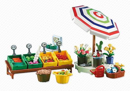 Farmer`s Market Stand
