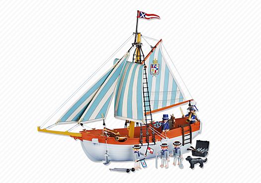 Naval Schooner