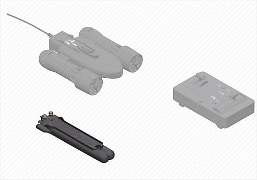 Battery Case For Rc Underwater Motor 6350 Playmobil