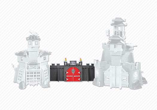 Wall Extension for Asian Dragon Castles (5479 & 5480)