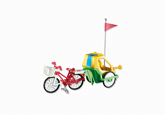 fahrrad mit kinderanh nger 6388 playmobil deutschland. Black Bedroom Furniture Sets. Home Design Ideas