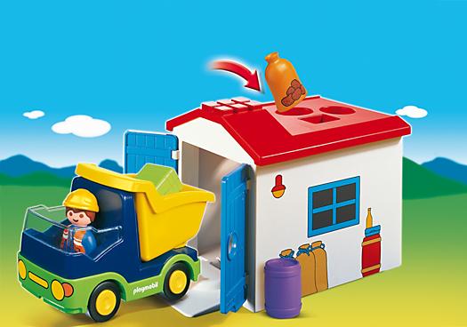 Truck with Garage