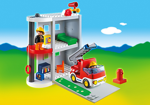 1.2.3 Take Along Fire Station