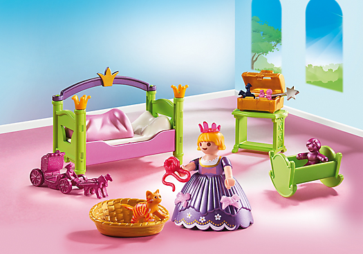prinzessinnen kinderzimmer 6852 playmobil deutschland. Black Bedroom Furniture Sets. Home Design Ideas