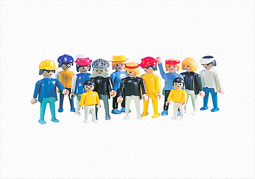 12 Assorted Figures