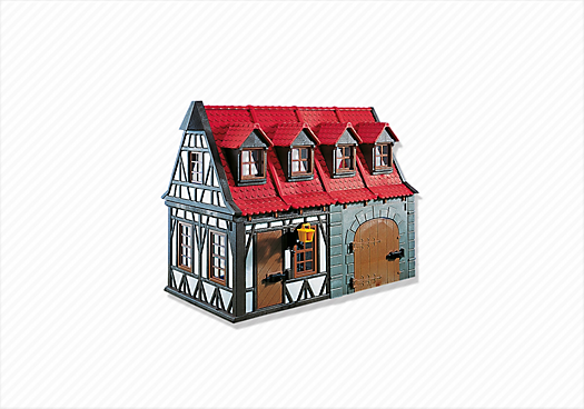 Medieval House with Barn