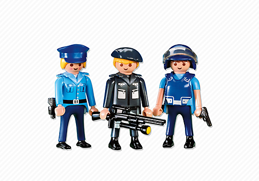 3 Police Officers