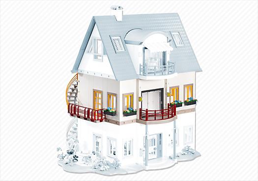 Piso adicional para la casa moderna 4279 7387 for Casa moderna 4279