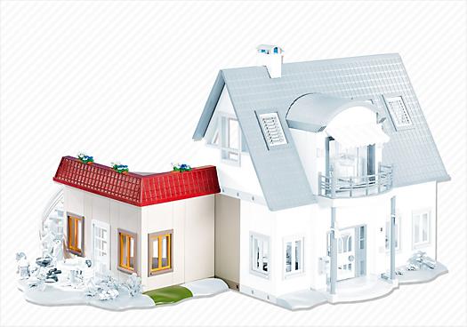 neues wohnhaus erweiterung b 7388 playmobil deutschland. Black Bedroom Furniture Sets. Home Design Ideas