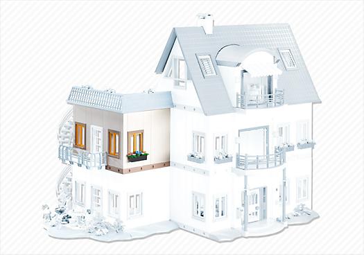neues wohnhaus erweiterung c 7389 playmobil deutschland. Black Bedroom Furniture Sets. Home Design Ideas