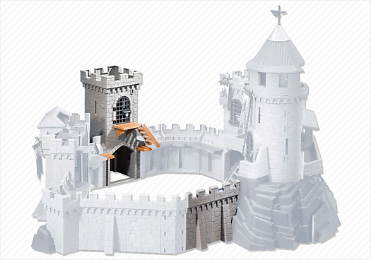 Tower Extension for Castle (4865 and 4866)