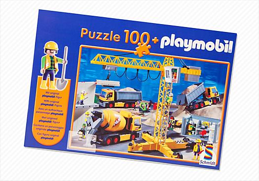 Puzzle Baustelle