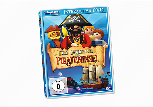 Interaktive DVD - Das Geheimnis der Pirateninsel