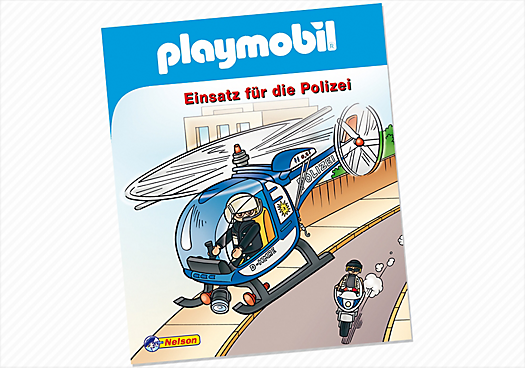 Minibuch Nr. 2: Einsatz für die Polizei