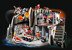 Camion avec garage