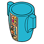 bucket:wooden II lt.brn II