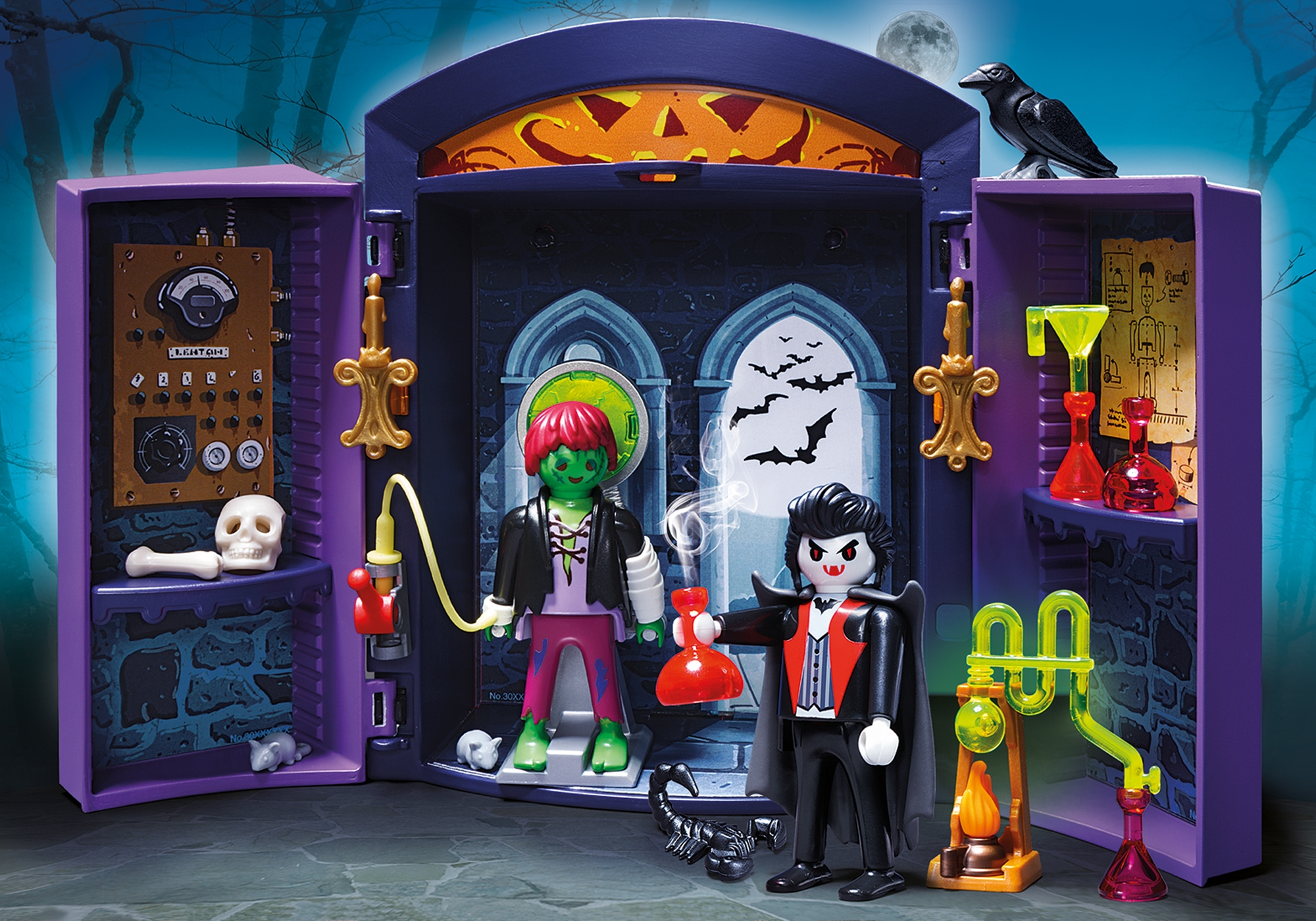 Haunted House Play Box