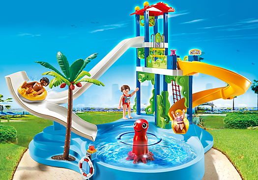 Water Park with Slides